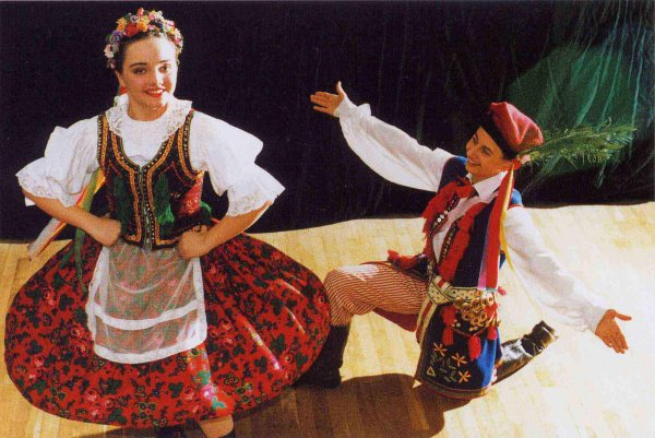 Costume Folklorique la petite-pologne